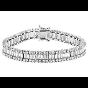Beautiful CZ 925 silver bracelet